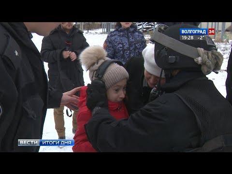 Бойцы СОБРа исполнили мечту юной волгоградки Ангелины Якимовой