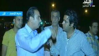 شهود العيان يرون تفاصيل انفجار مبني الأمن الوطني بشبرا الخيمة