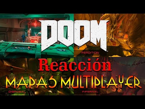 DOOM 2016 | MAPAS MULTIPLAYER TRAILER | REACCION Y OPINION
