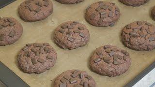 figcaption 청크초코칩쿠키 chocolate chunks cookies : 베이킹 하레