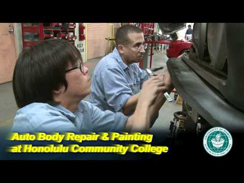Auto Body Repair & Painting at Honolulu Community College