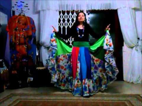 Video Aula De Dança Cigana - Passos Básicos - Aula 01 - Saliha Nahid