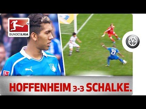 Hoffenheim vs. Schalke - Modeste, Boateng & Firmino Score in 6-Goal Thriller