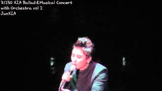 131230 XIA Ballad&Musical Concert with Orchestra vol 2 - Incredible Orchestra ver