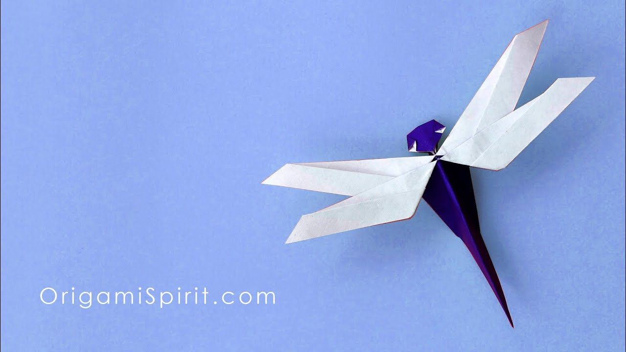 Dragon Fly Origami