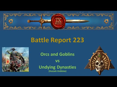 The 9th Age Battle Report 223