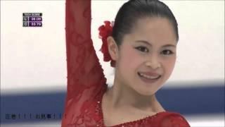 宮原知子さんの2015年NHK杯 ショート・プログラム『Fire dance』をさら...