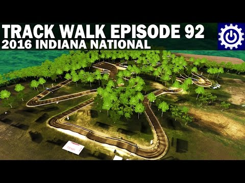 MX Simulator - Track Walk Ep. 92 - 2016 Indiana National