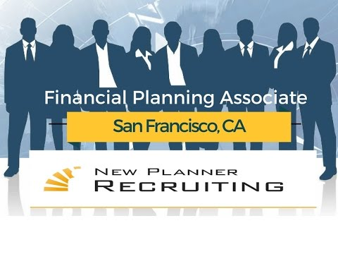 Financial Planning Career Opportunity – San Francisco, CA
