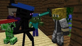 Mob Kids Life 2 - Kids Minecraft Animation