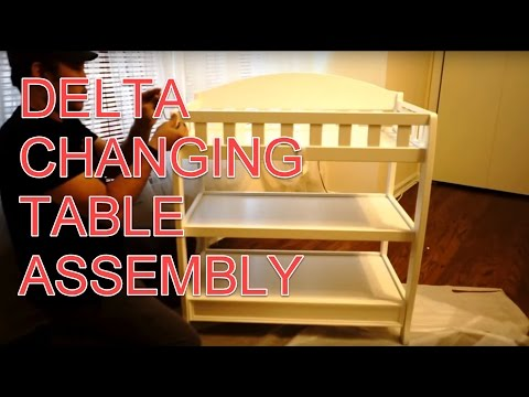 Delta Children's Changing Table Build