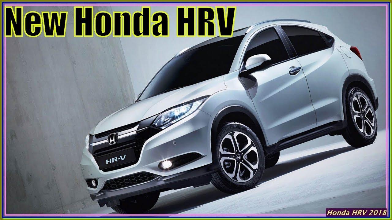 Honda HRV 2018 | New 2018 Honda HR-V Review And Specs ...