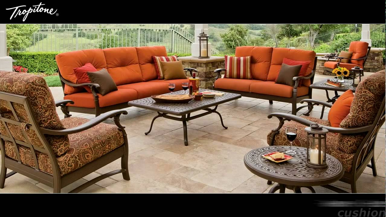 collection outdoor furniture patio collections tropitone stock sling kenzo luxury in