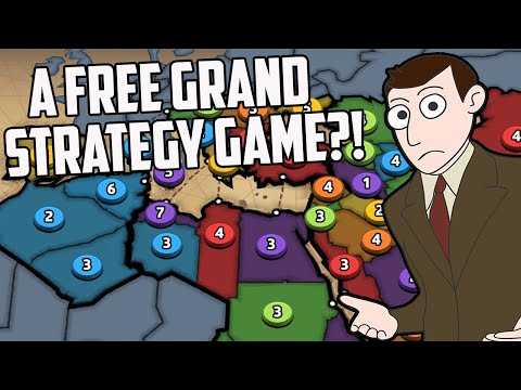 A Free Grand Strategy Game Just Released On Steam And It's VERY TILTING (Risk)