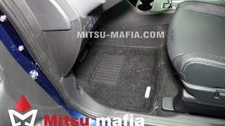 3D коврики в салон Mitsubishi Outlander 3
