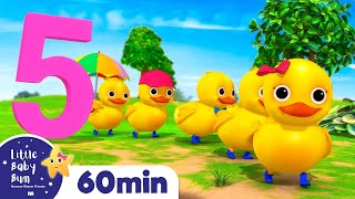 Five Little Ducks, Monkeys And Monsters! +More Nursery Rhymes and Kids Songs | Little Baby Bum
