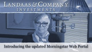Morningstar Web Portal Update