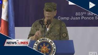 Du30 to soldiers: Neutralize NPA's sparrow unit