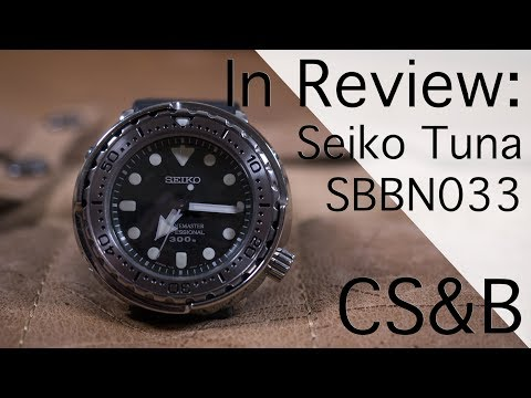 In Review: Seiko Tuna SBBN033 - The Best Purpose Built Dive Watch Under $1,000