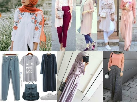 Hijab summer dresses