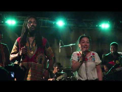 Kabaka Pyramid & Sara Lugo & the Bebble Rockers High & windy New Morning Paris 15 juin 2017