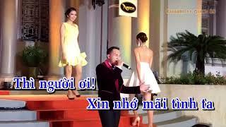 Beat Karaoke Tình Như Lá Bay Xa Hoàng Nhật Minh