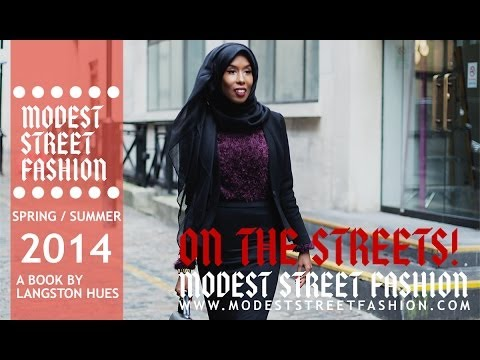 Modest Street Fashion: On The Streets - Episode 5 from YouTube · Duration:  9 minutes 58 seconds