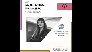 Mujer en Rol Financiero: Caudia Simonte