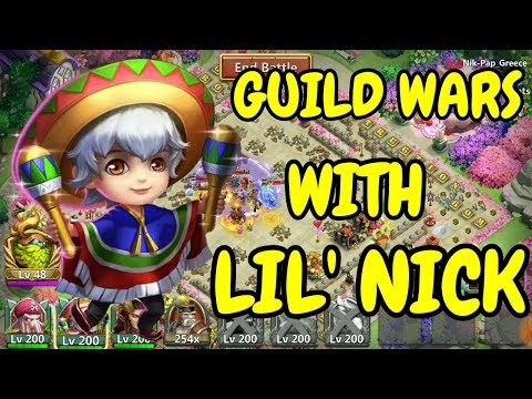 Guild Wars With Lil' Nick L Castle Clash