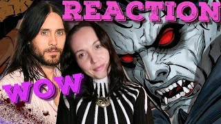 Morbius Trailer Reaction