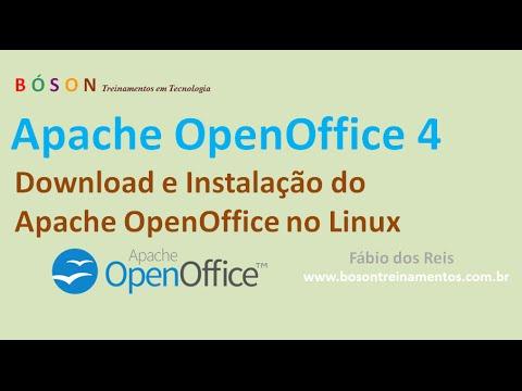 Apache OpenOffice 4 - Download E Instalação No Linux