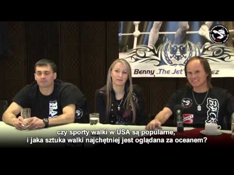 Benny  The Jet  Urquidez  Press Conference Częstochowa,Poland, Konferencja Prasowa   YouTube 720p