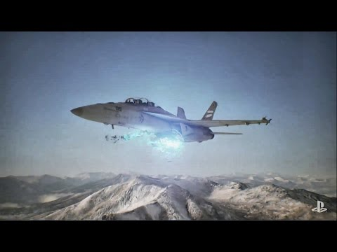 Ace Combat 7 PSX 2016 Trailer Poster