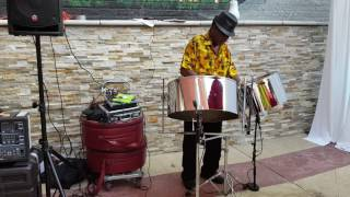 SOLO STEEL DRUM PERFORMER STAN WIEST MUSIC VIDEO 1  (631)  754-0594