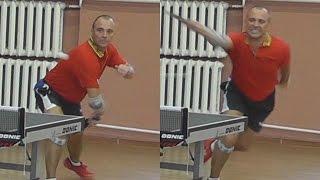 Владислав КУЦЕНКО vs Иван ЛЕДНЕВ, Турнир Master Open, Настольный теннис, Table Tennis