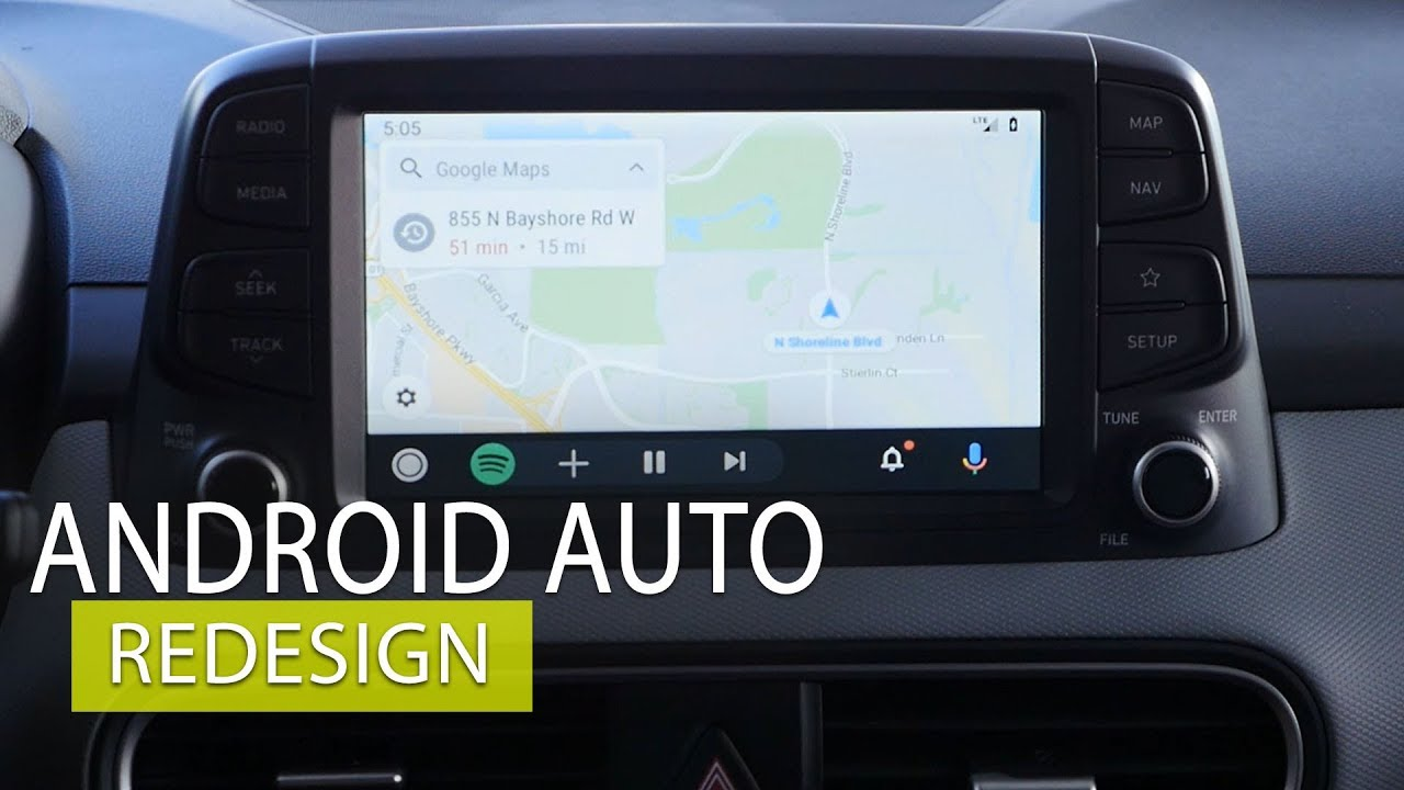 Android Auto 2019 Redesign walk through