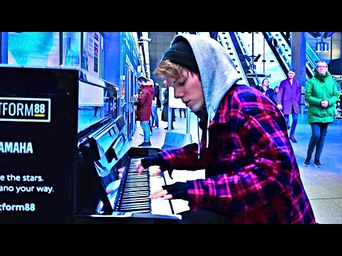 DEMONS - IMAGINE DRAGONS (Underground Piano Performance)