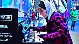 DEMONS - IMAGINE DRAGONS (Underground Piano Performance)