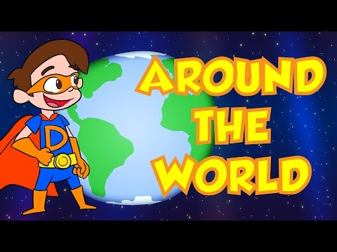 Travel Around the World with Cool School!   Cool School Compilation
