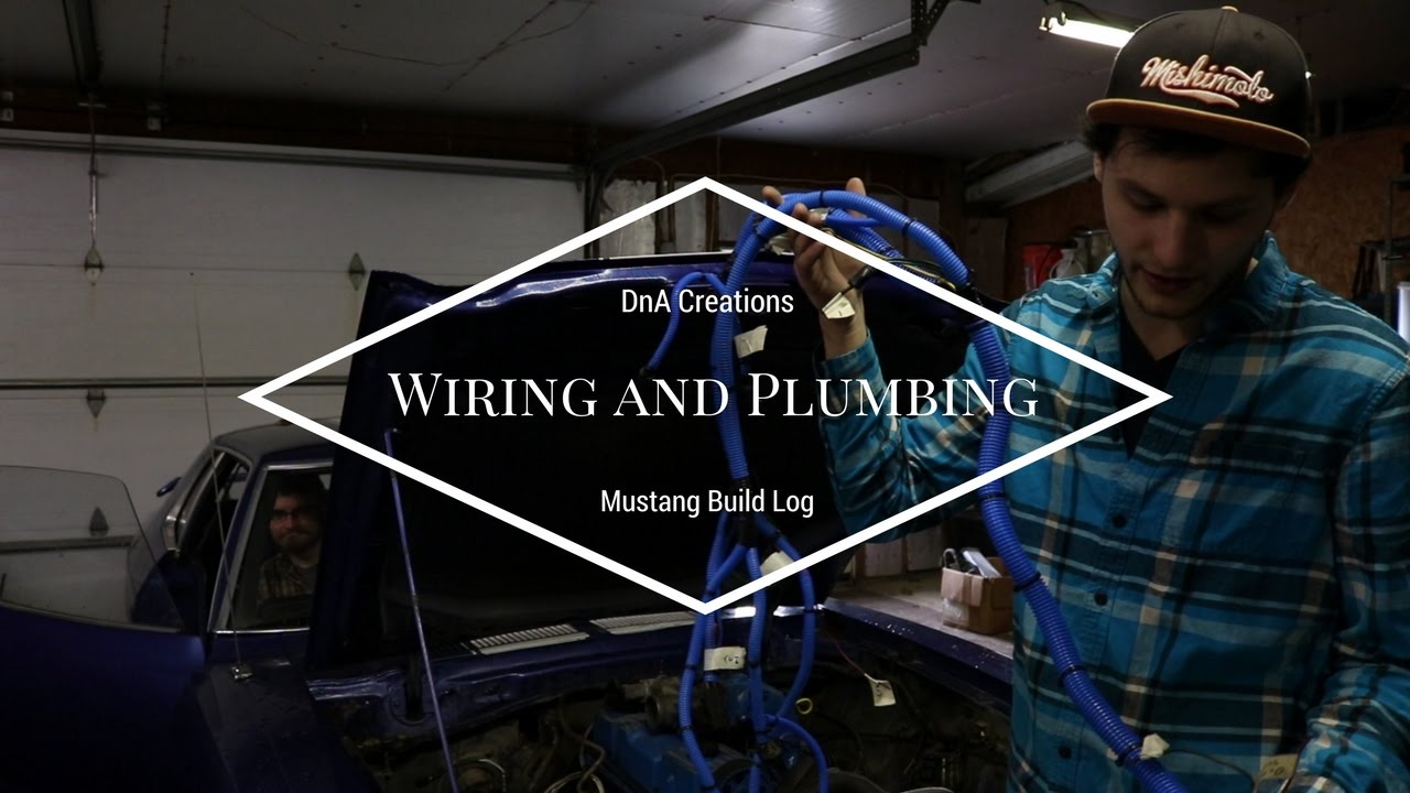 Wiring Harness And Coolant Lines