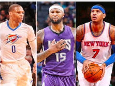 Demarcus Cousins & Carmelo Anthony To Okc - Russell Westbrook Will destroy kevin durant