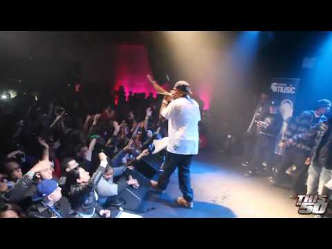 50 Cent Myspace Music Release Concert in NYC - Performs So Disrespectful Crime Wave I Get Money
