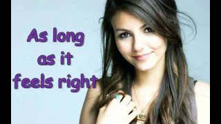 Victoria Justice - All I want is Everything Lyrics & download link