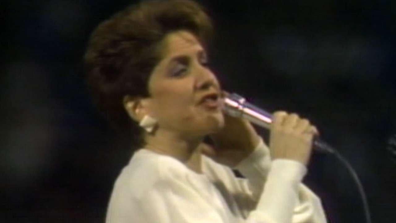 1986 alcs gm7  suzyn waldman sings national anthem