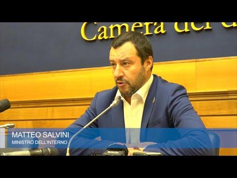 Legittima difesa, Salvini: