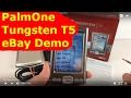 PalmOne Tungsten T5 eBay Demo