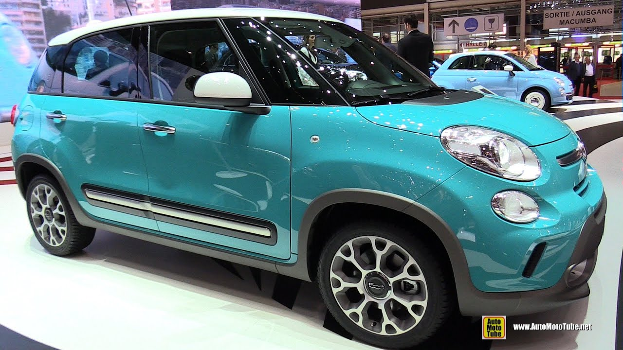 2015 fiat 500l trekking 1 6 multijet 120ch exterior and. Black Bedroom Furniture Sets. Home Design Ideas