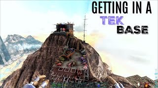 FOUR GUYS WITH A Tent Vs Tek Base - Official (E37) - ARK Survival Gameplay