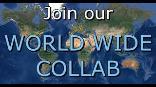 Join our WORLD WIDE COLLAB! | Dancing Around The World
