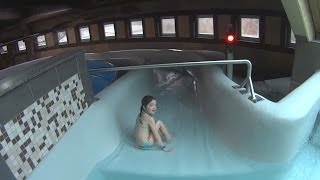 Scary Canyon Water Slide at Aquapulco
